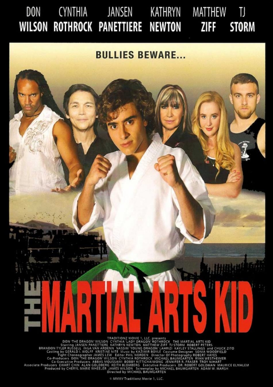 The Martial Arts Kid New Poster