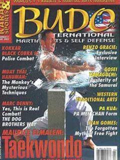 BUDO MAG COVER MAR 2003 TN