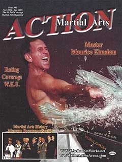 MARTIAL ARTS ACTION MAG COVER JAN 2005 TN
