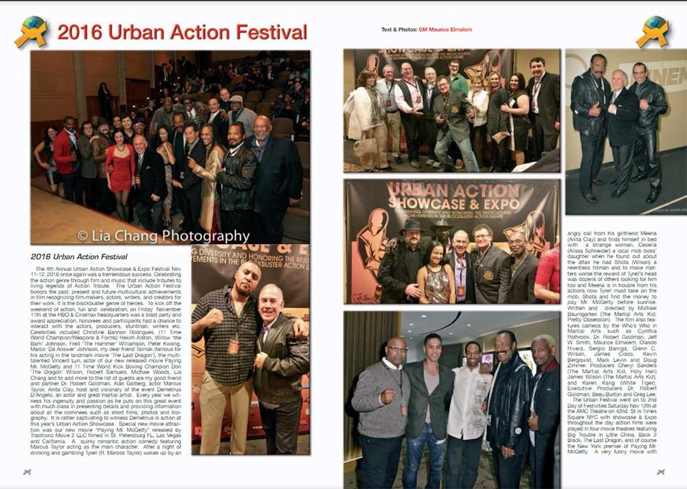 2016 URBAN ACTION FESTIVAL
